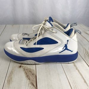 Air Jordan Q-Flight 2011 Blue & White